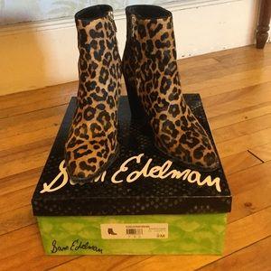 f784f780a Sam Edelman Shoes - Sam Edelman Blake Leopard Brahma boots booties 9